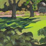 Katherine N. Crowley: Morning, Whetstone Park of Roses, Columbus, Ohio