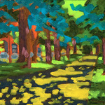 Katherine N. Crowley: Sunlight & Shadows, Commonwealth Avenue, Boston Massachusetts