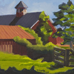 Katherine N. Crowley: Barn at Slate Run Historical Farm, Canal Winchester, Ohio