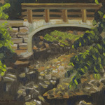 Katherine N. Crowley: Bridge at Glen Echo Ravine, Columbus, Ohio