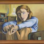 Katherine N. Crowley: Self Portriat No. 2