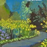 Katherine N. Crowley: Goldenrod Path, Ohio State University Wetlands