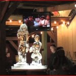 Sarah Hahn: Bacchus/ Lil Wayne- Ice Sculpture Licquor Luge