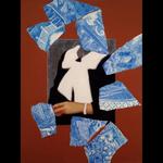 Paula J. Nees: Blue Willow Shards