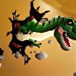 Maria Palmer: Dino Mural