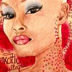 Maria Palmer: Bald Woman 3