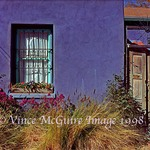 Vince McGuire Images: Purple House on Meyer St.