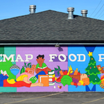Phillip Martin: NNEMAP Food Pantry Mural