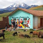 Phillip Martin: Mural in Tamboccocha, Peru