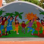 Phillip Martin: Mural in Piedras Negras, Mexico