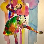 Justin Frehs-Watercolor Artist: Ballerina.jpg