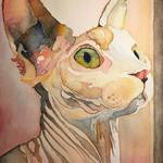 Justin Frehs-Watercolor Artist: The_Sphynx.jpg